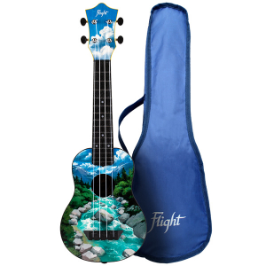 Flight TUS30 Slovenia Soprano Travel Ukulele