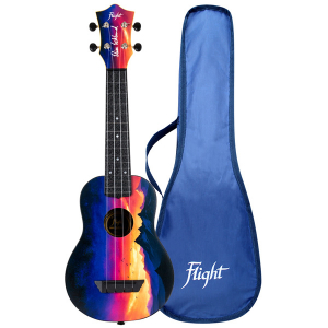 Flight TUS-EE SUNSET Elise Ecklund Signature Travel Soprano Ukulele